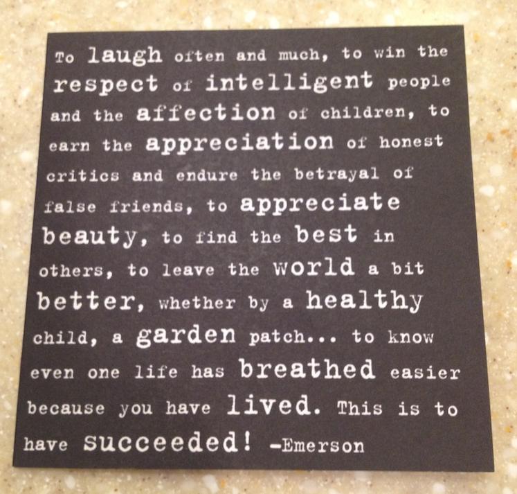 Emerson To Laugh