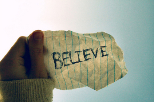 Paper Showing Belief