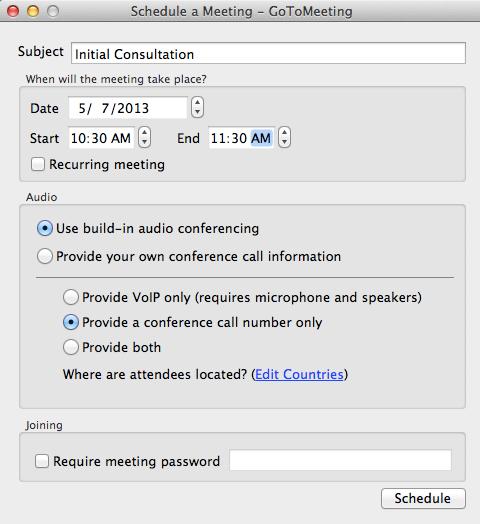 Online Meeting Support - FAQ GoToMeeting, GoToWebinar