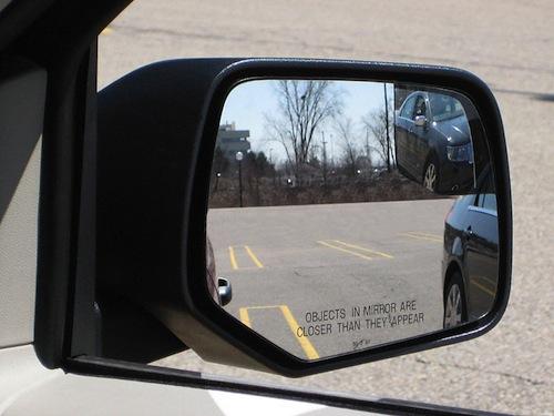 Blind spot abilities