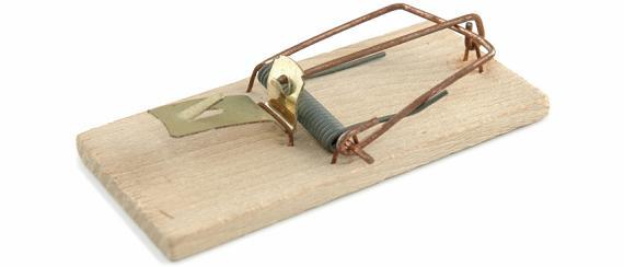 irreducible mousetrap