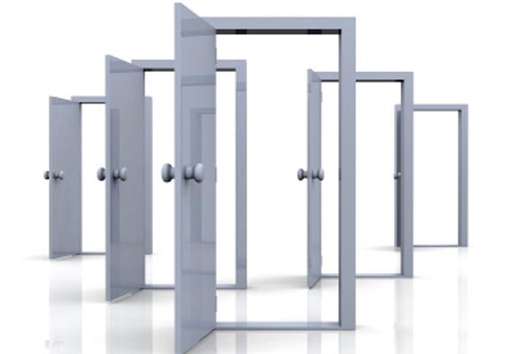 open doors and opportunities