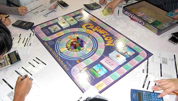 cash flow game kiyosaki
