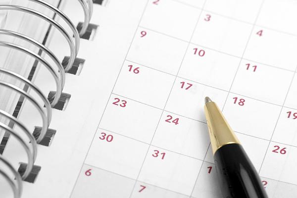 no commitments open calendar