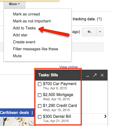 google tasks adding new